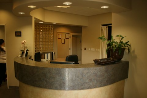 Dental Office Reception - Crown Dentistry in Sacramento