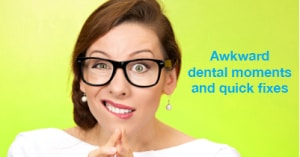 awkward dental moments